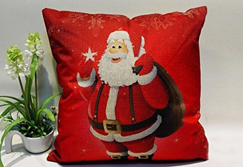 christmas pillow cover 18x18 sympath sof cama decoracin