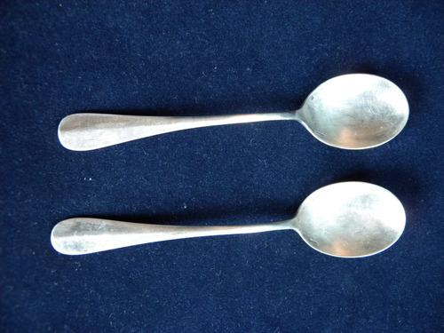 christofle 2 cucharas para helado modelo fidelio antiguas