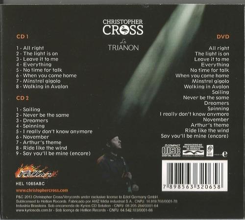 christopher cross-a night in paris ( 3 discos)