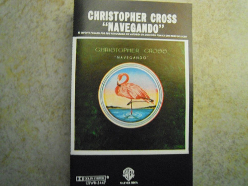 christopher cross casette navegando