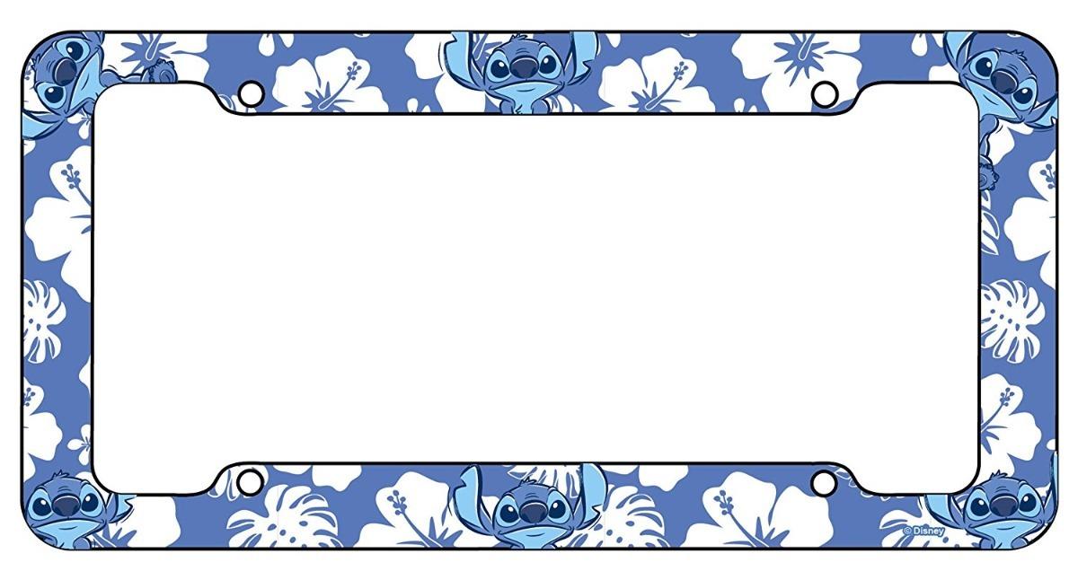 Chroma Stitch Disney Porta Placas Plastico, Marco Para Coche ...