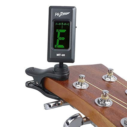chromatic tuner fit for guitar/bass/violin/ukulele/some of w
