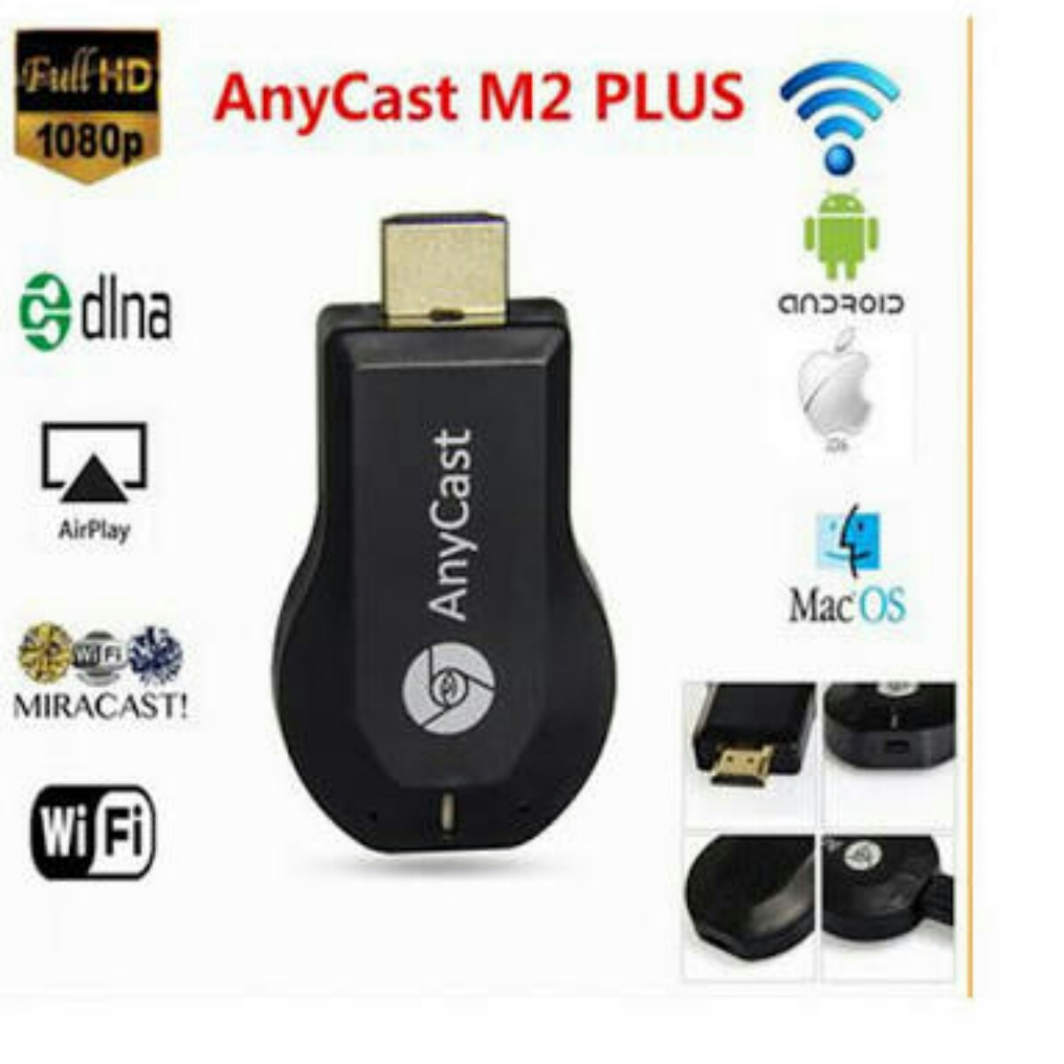 Chrome Cast Google Chrome 1080p Full Hd Hdmi Netflix