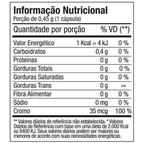 chrome - cromo + gengibre + canela + pimenta ftw 3x90 cps