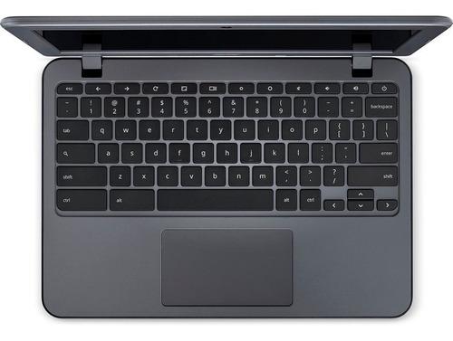 chromebook acer n7 c731-c9da intel celeron 4gb ram 32 emmc tela 11.6 hd chrome os
