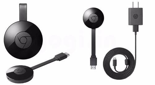 chromecast 2 geração google hdmi 1080p streaming - preto