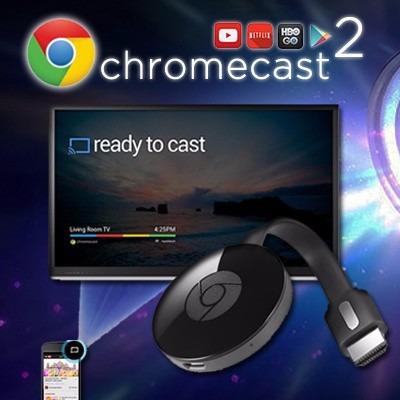 chromecast 2 *nuevos *ojo (no son reconstruidos ni rebuilt)