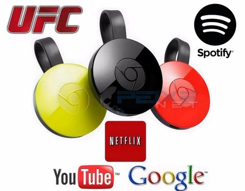 chromecast 2 original google 1080p lacrado netflix envio já