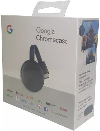 chromecast 3 - 3ª geração original 1080p google (promoção)