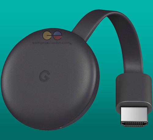 chromecast 3 google convertidor tv en smart tv oferta