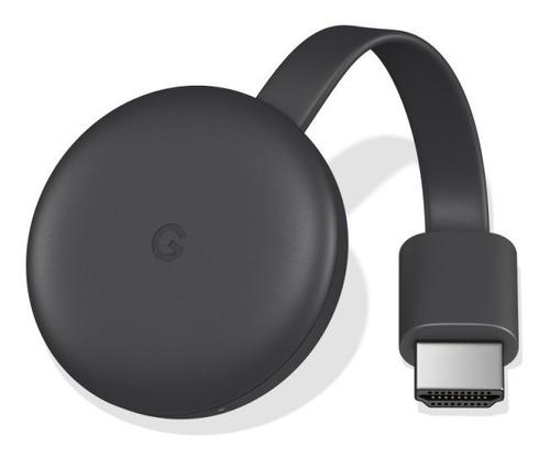 chromecast 3 google para tvs com porta hdmi conexão wifi 1