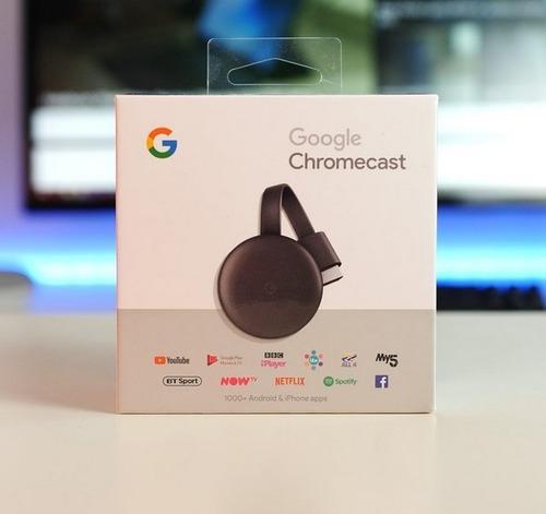 chromecast 3 smart tv box hdmi usb original sellados 2019