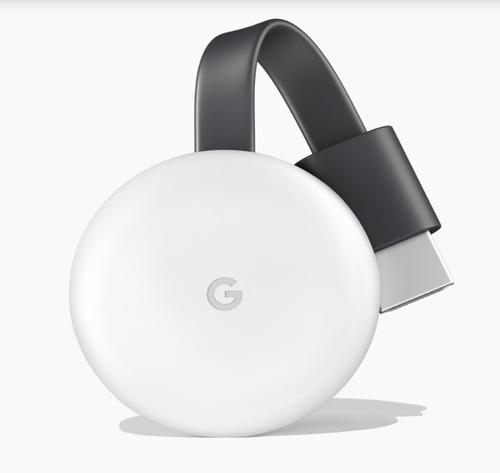 chromecast 3 version 2018 nuevo sellado blanco y negro