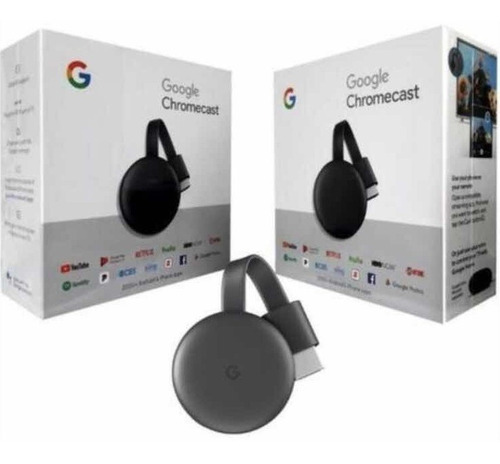 chromecast 3era. gen. google, convierte tv a smart 2020