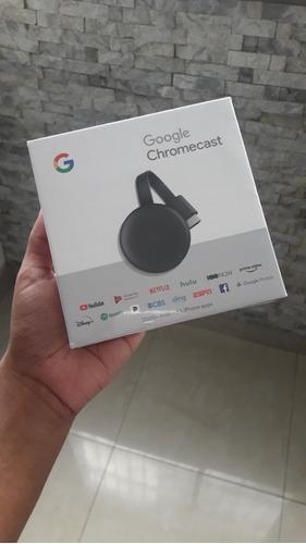 chromecast 3ra generación smarttv  45v mejor que roku