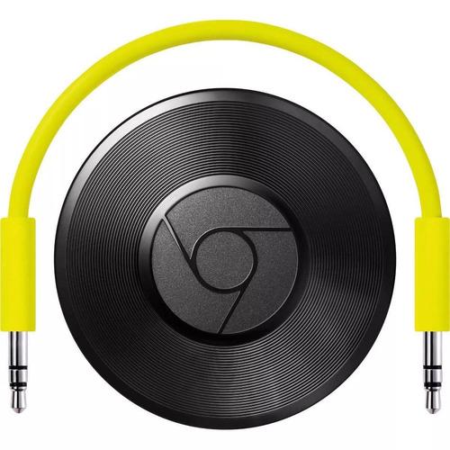 chromecast audio google streaming caixa de som spotify wi fi