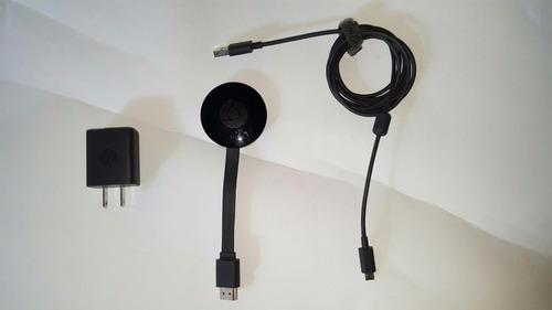chromecast combierte tu proyector o pantalla smart tv