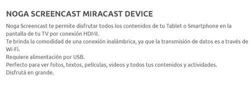 chromecast ez cast dongle screencast noga miracast smart tv