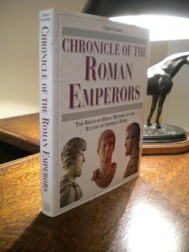 chronicle of the romans emperors de chris scarre