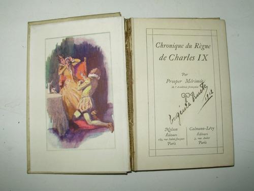 chronique du regne de charles ix p. merimee nelson editeurs