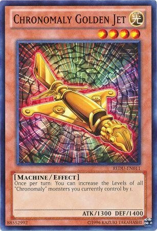 chronomaly golden jet - redu-en011 - common unlimited