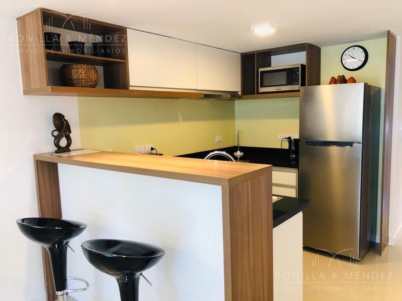 chronos! 2 dormitorios con 2 baños, alquiler invernal, usd 650 mensual