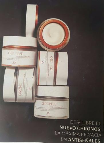 chronos - natura (kit) - crema facial 30+ (envío gratis)