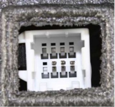 chrysler 300 / 300c 2005 - 2010 espejo izquierdo electrico #