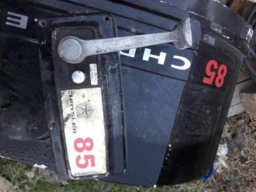chrysler 85hp rota una biela y piston