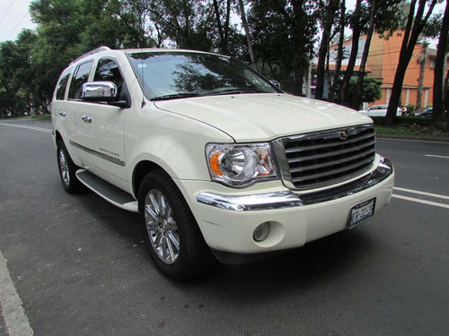 chrysler aspen 5.7 limited qc abs 4x2 mt blanco  2008