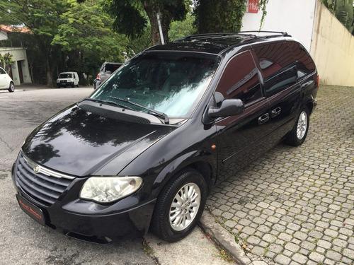 chrysler caravan lx 2006/2007 blindada por r$ 28.799,99