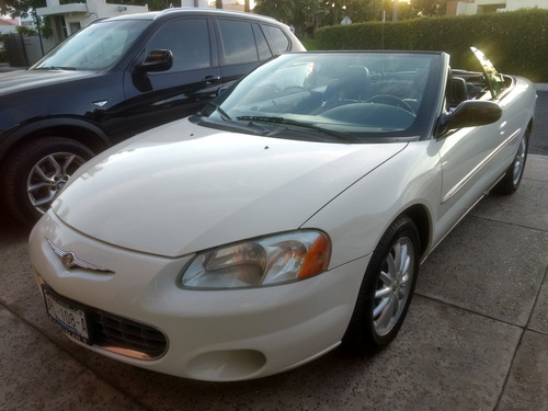 chrysler cirrus convertible l4 piel at 2003