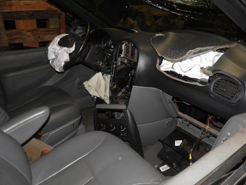 chrysler grand caravan 3.3 2005 sucata p peças motor câmbio