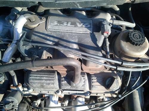 chrysler grand caravan 3.3 v6 ano 07 sucata  peças motor