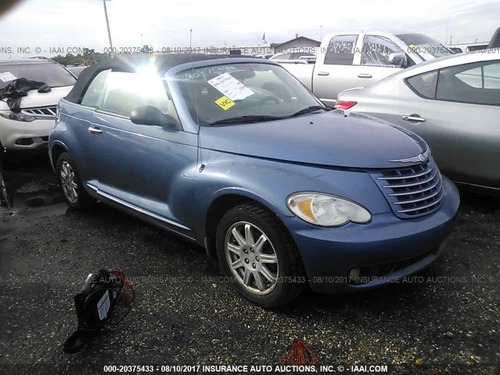chrysler pt cruiser 2007 covertible se vende solo en partes
