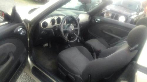 chrysler pt cruiser convertible automática 4 cil 2005