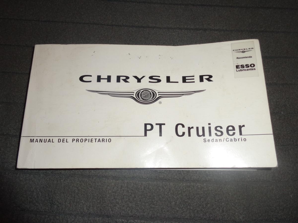 chrysler pt cruiser sedan-cabrio manual del propietario. Cargando zoom.