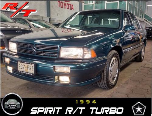 chrysler spirit 4p rt aut equipado a/a 1992