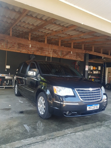 chrysler town & country 2008 3.8 limited 5p