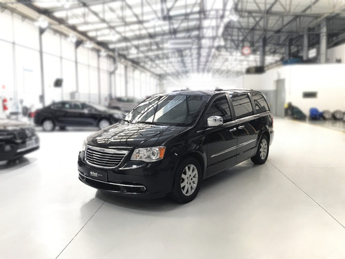 chrysler town & country - blindado 2011