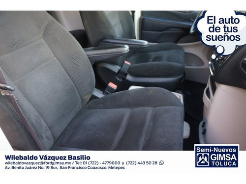 chrysler town & country li 3.6l 2016 seminuevos