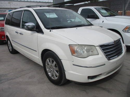 chrysler town & country limited, aut, v6, blanco, mod. 2008