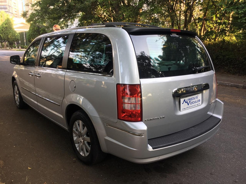 chrysler town country limited blindado cart  64.000mkm 2008