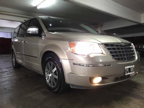 chrysler town & country stow n go