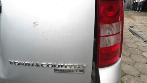 chrysler town e country 2008 - sucata peças motor interior