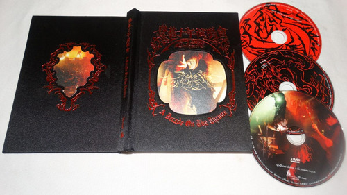 chthonic - a decade on the throne (long digibook 2 cds + dvd
