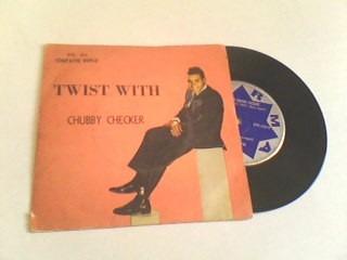 chubby checker - compacto de vinil - twist with