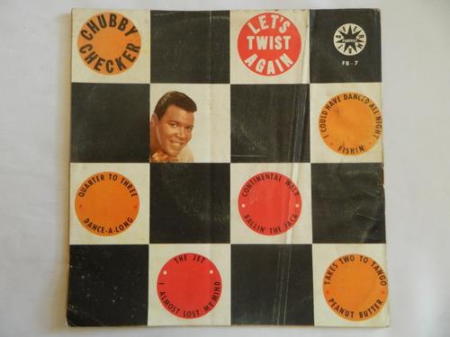 chubby checker - let's twist again - lp