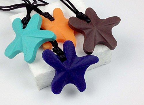chubuddy star fish chewy sky blue nontoxic