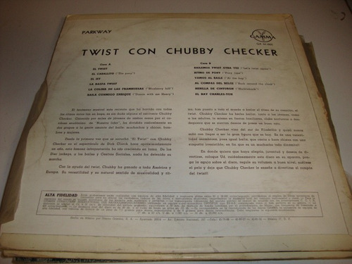 chuck berry disco lp. de 12 twist